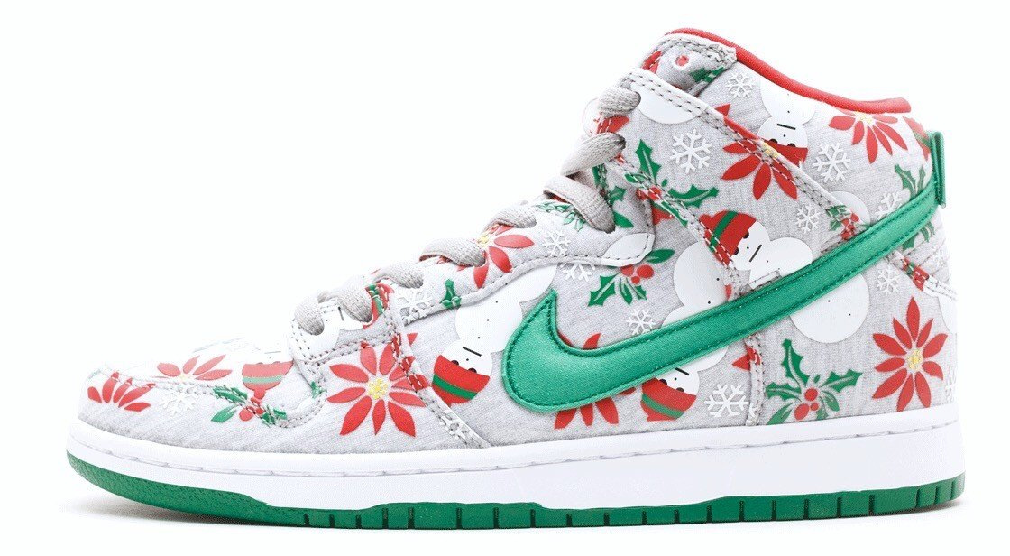"Nike SB Dunk High Pro ""Ugly Christmas Sweater"" x CNCPTS 