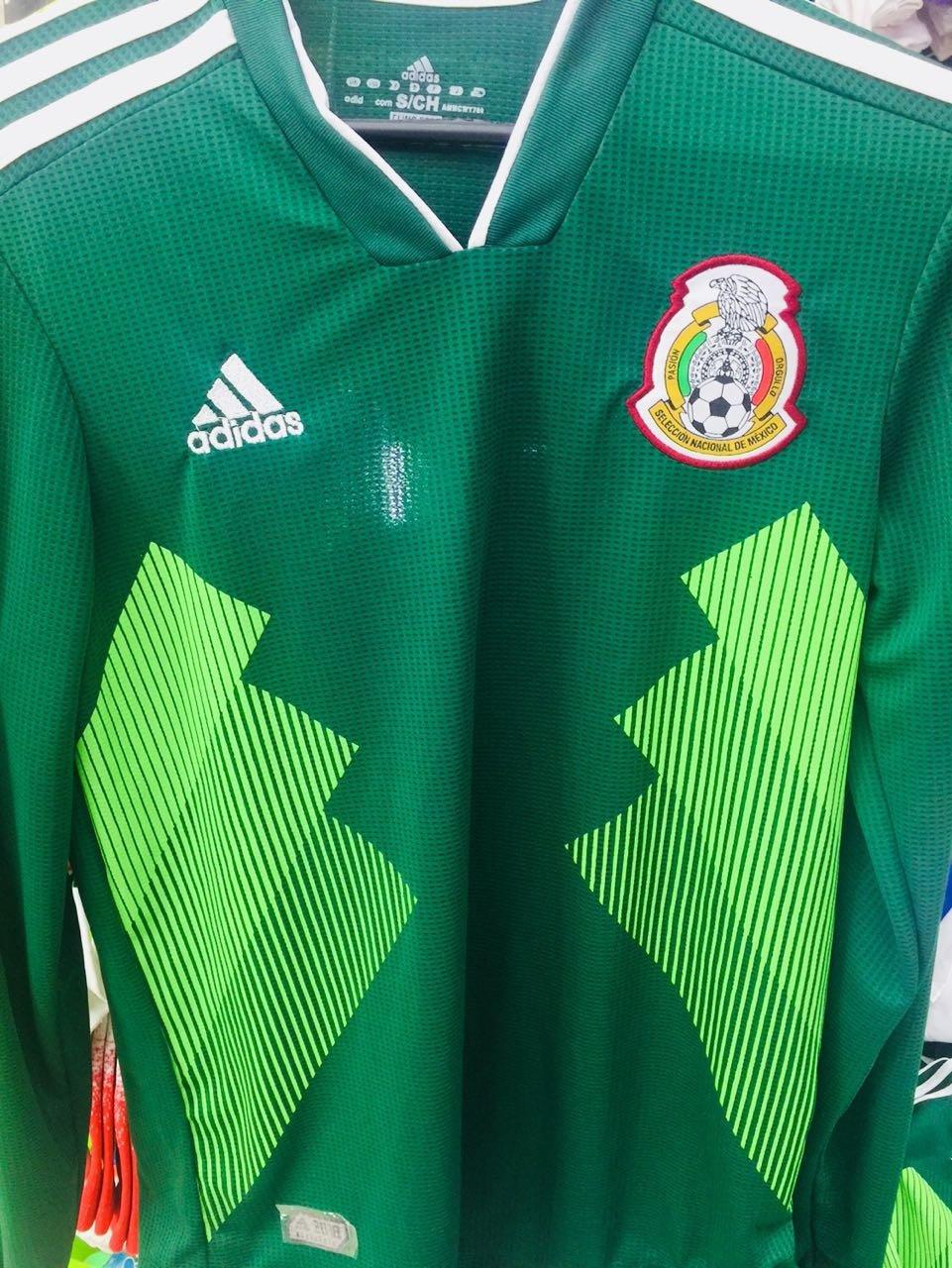 26fc60e2c5c33 Jersey Deportivo Réplica Selección México 2018 adidas Verde » Geekazoide