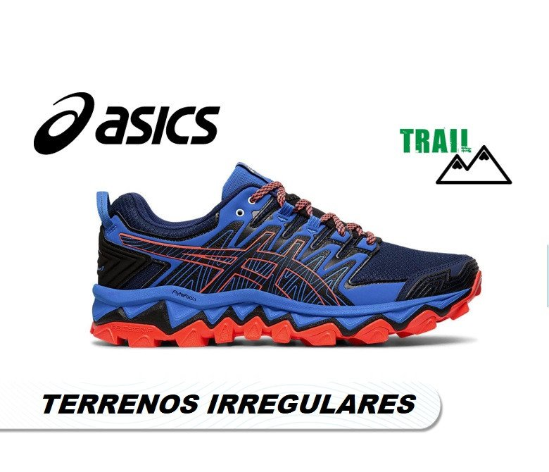 asics trail hombre trabuco