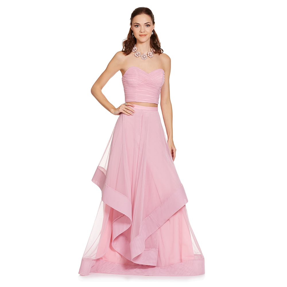 Bonito Dos Vestidos De Dama De Honor Pieza Motivo - Colección de ...