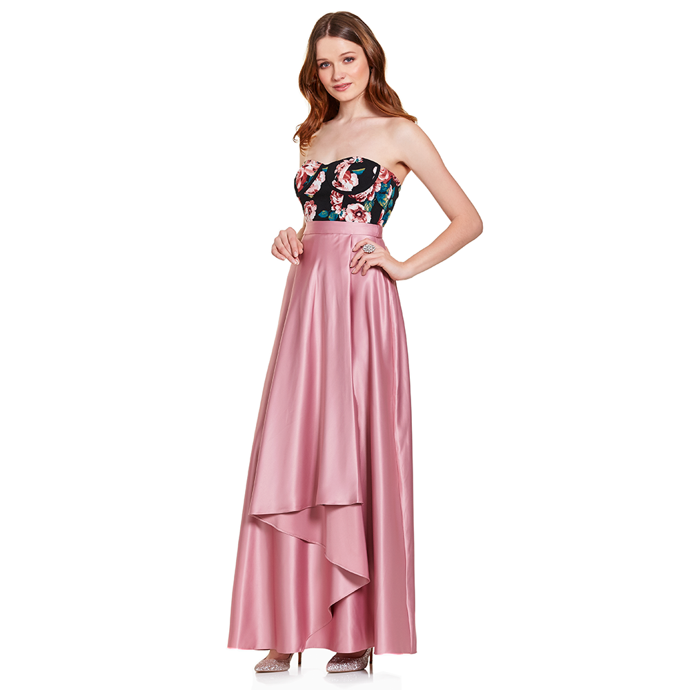 Vistoso Vestido De Fiesta Tetona Friso - Colección de Vestidos de ...