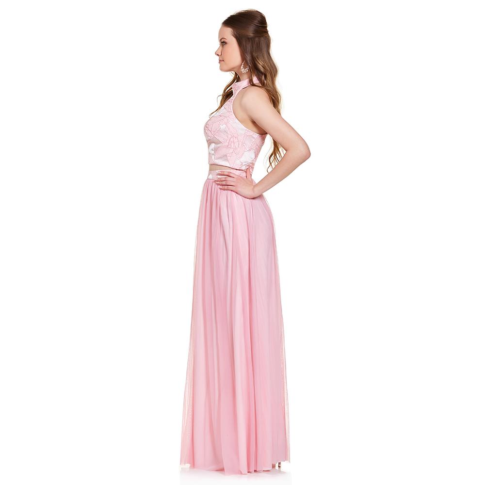 Excepcional 2 Piezas De Vestidos De Dama Fotos - Colección de ...