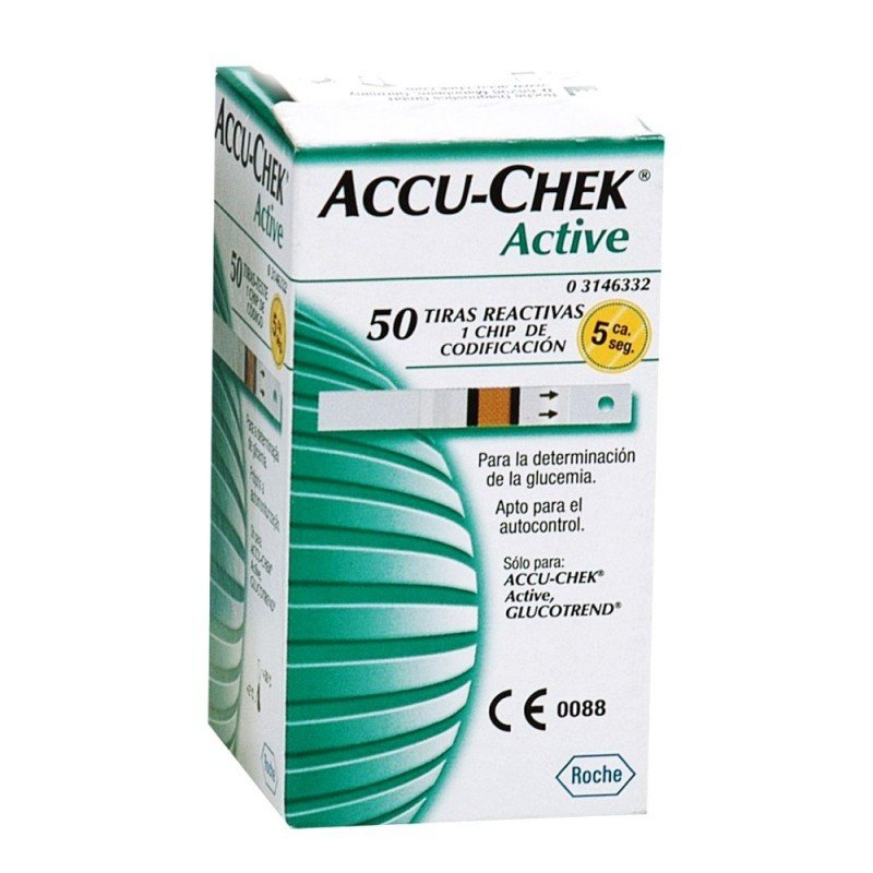 bb53d5d2f Tiras Reactivas Accu Check Active c/50 » Salud 360