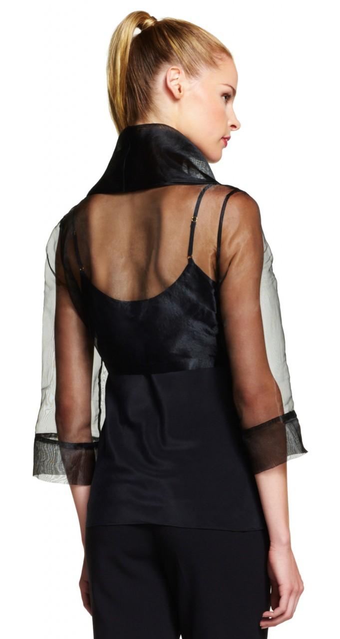 Orgnza wrap jacket