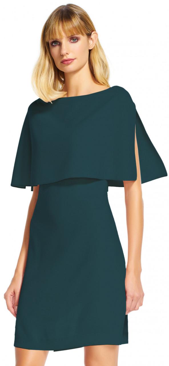 vestido con capa popover