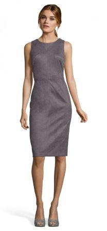 Vestido de vaina con costura estilizada