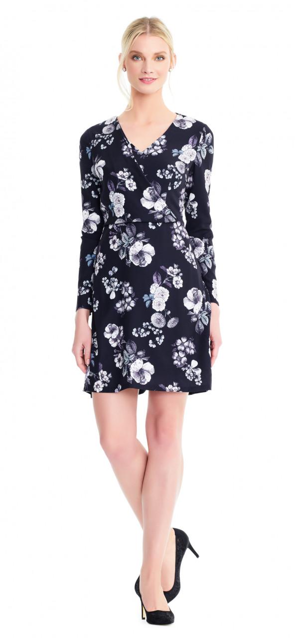 Etch flora a line dress