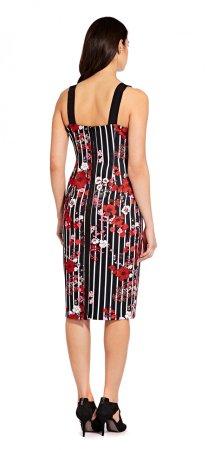 Scuba slim sheath dress