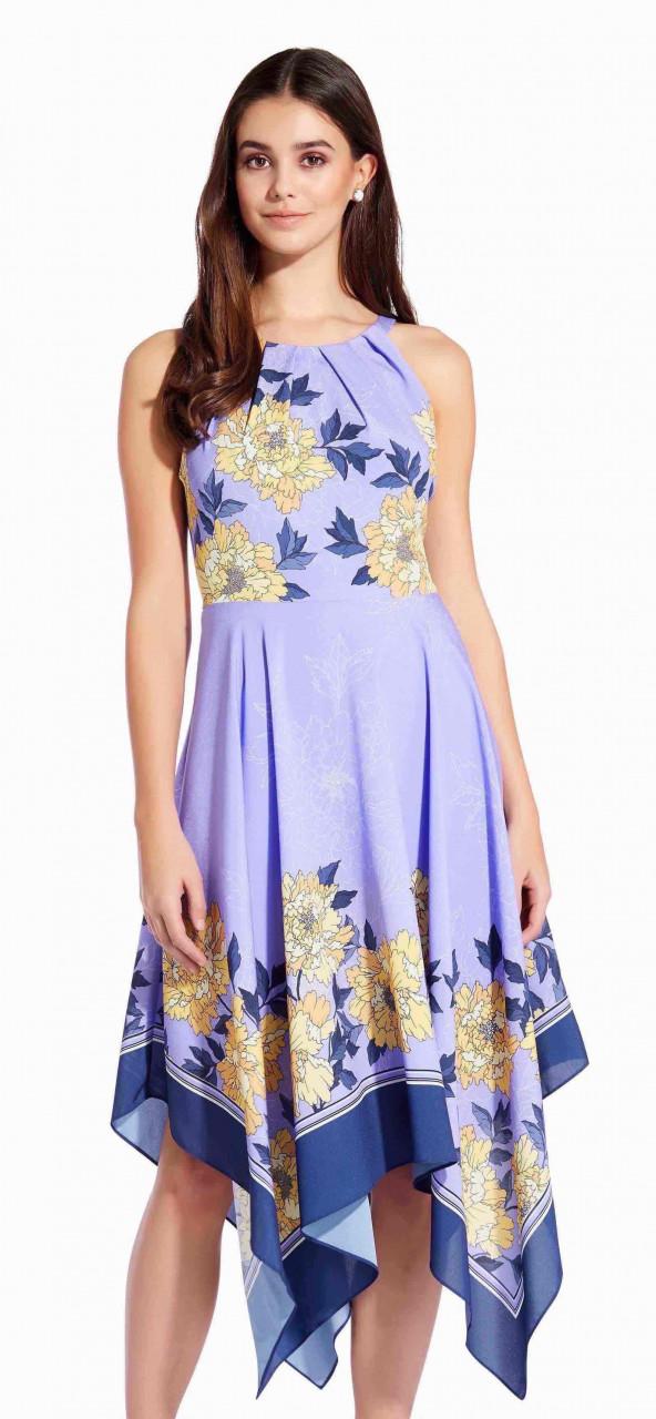 Bliss blooms handkerchief dress