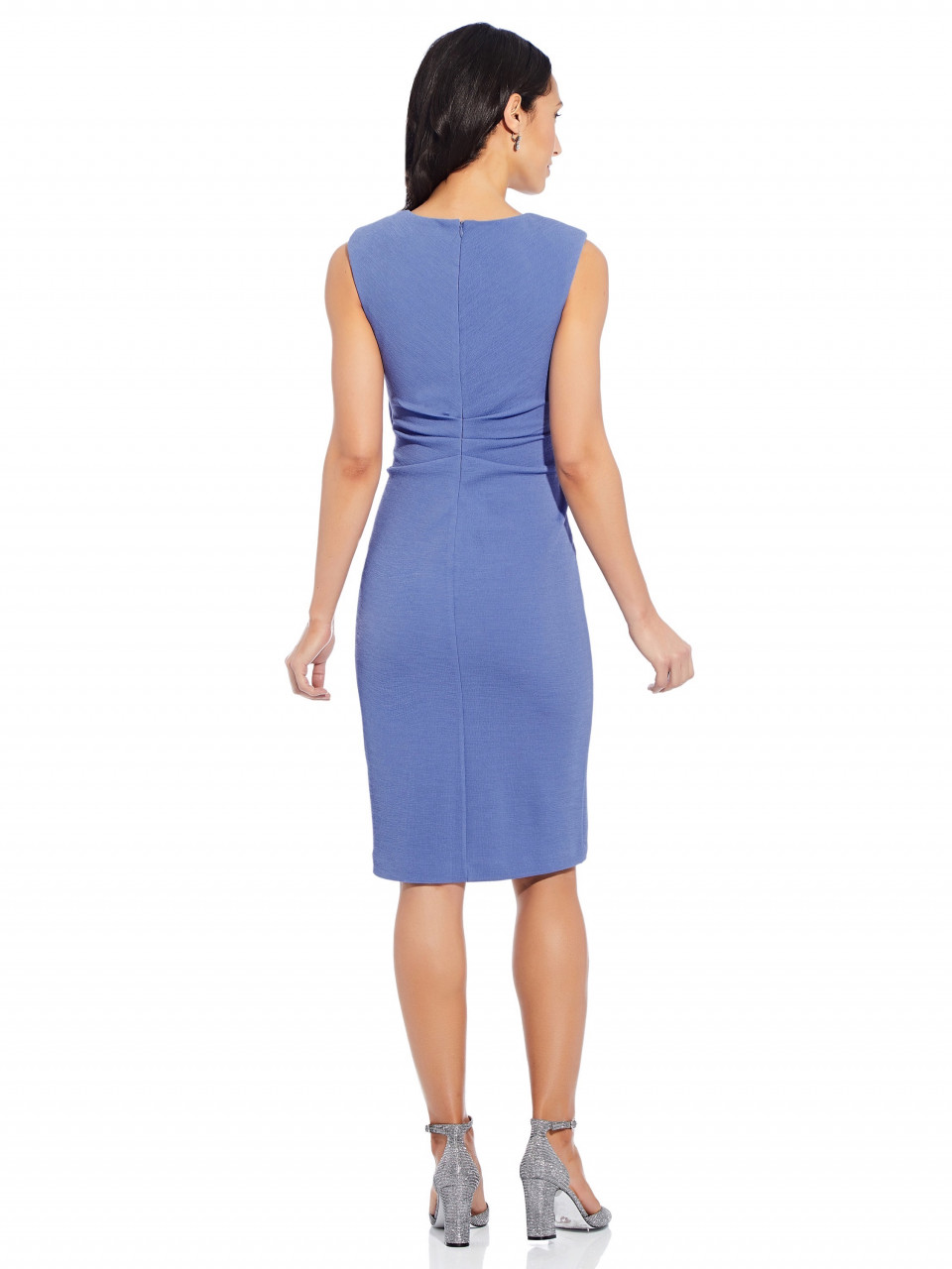 Rio knit tie sheath dress