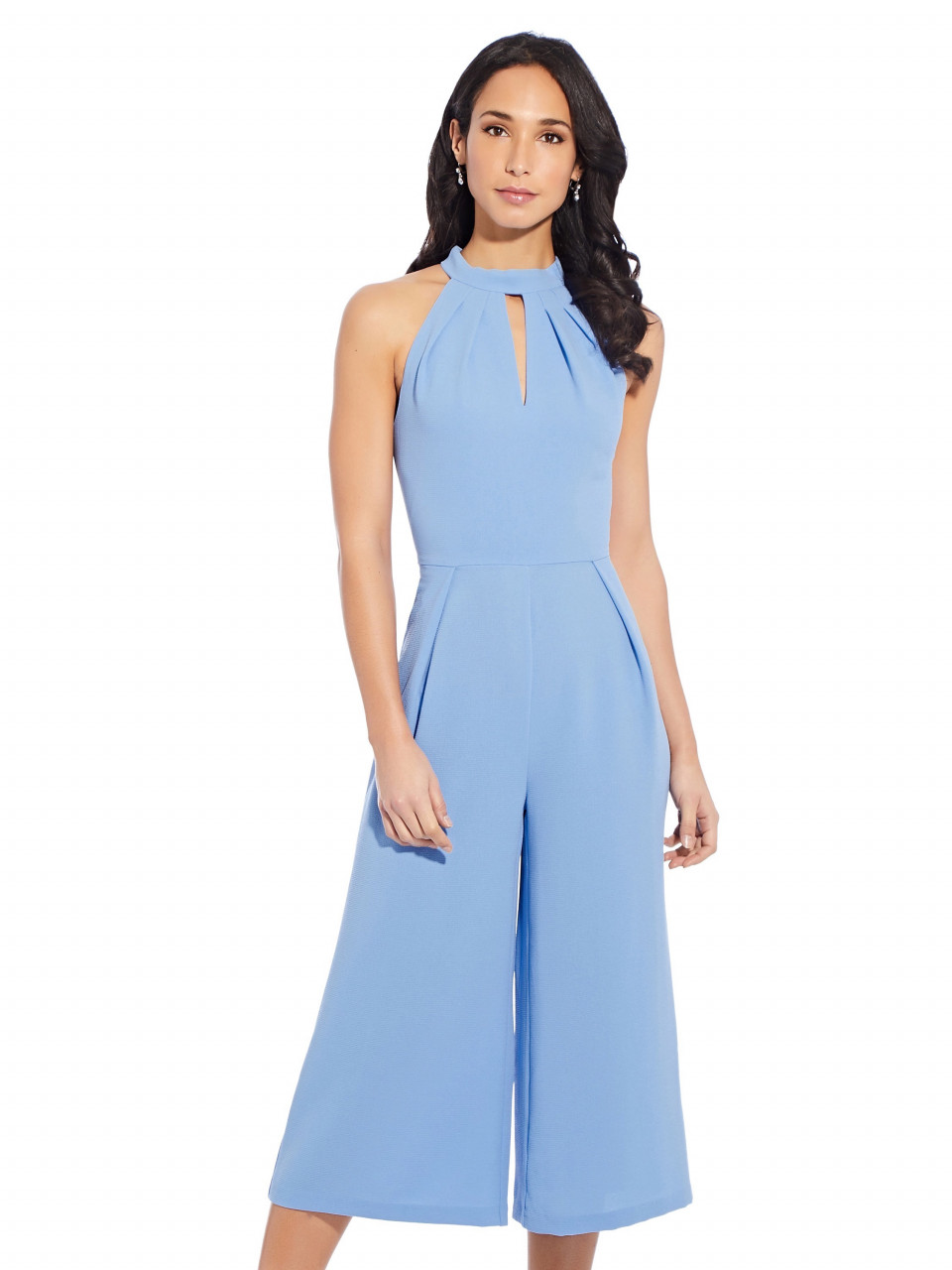 Cameron woven cropped jumpsuit