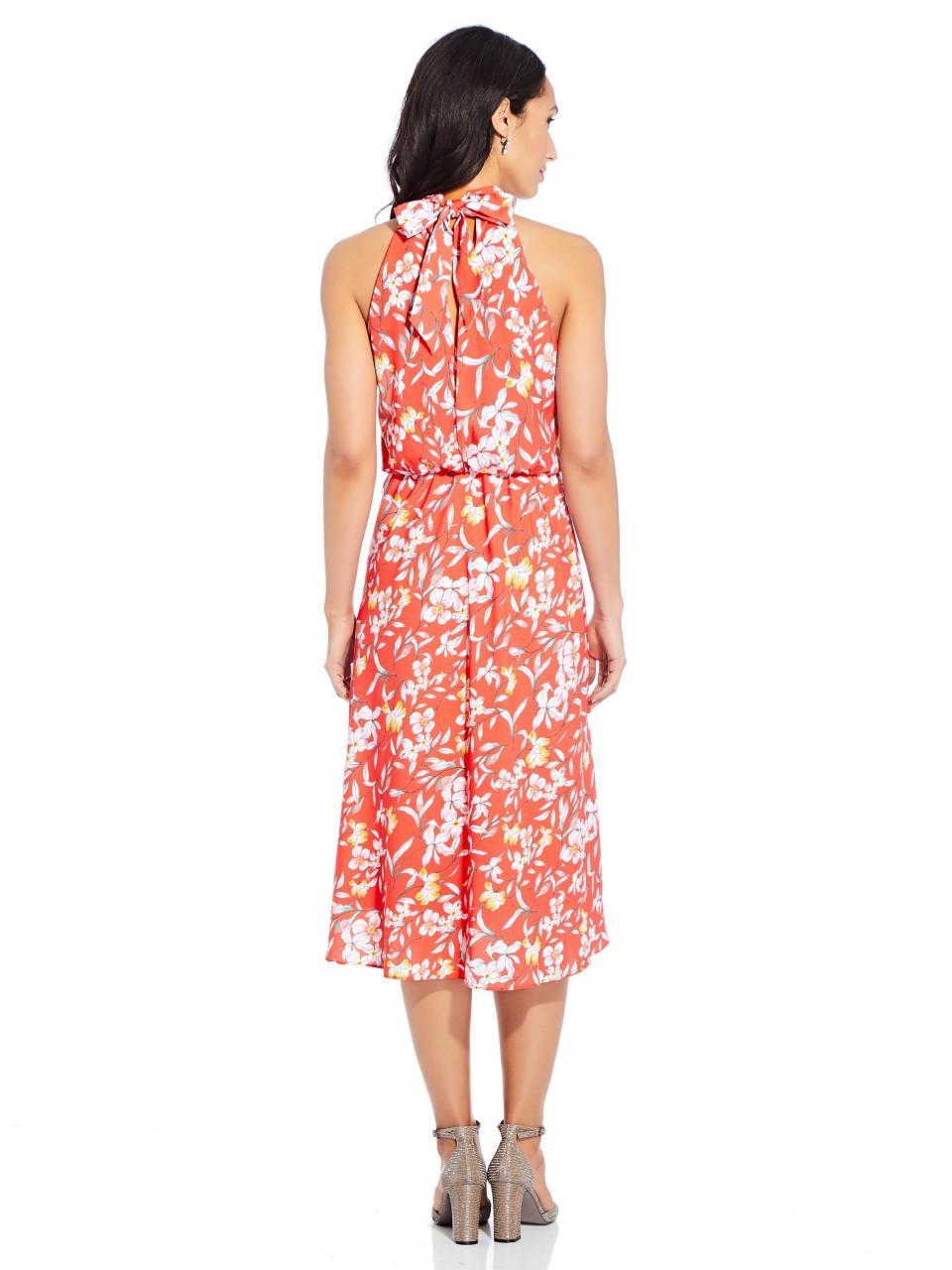 Tea time floral bias dress