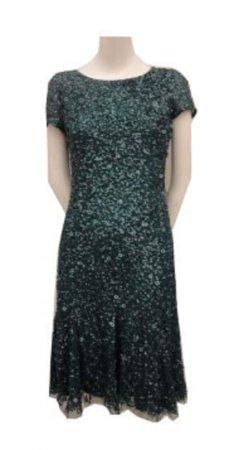 Short sleeve short dress with godets