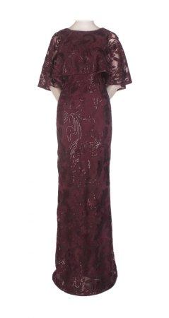Long caplet dress