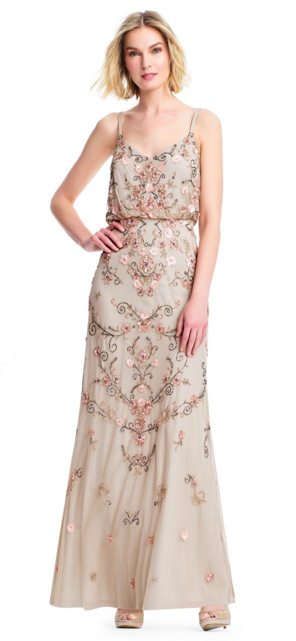 Vestido ablusado diseño floral
