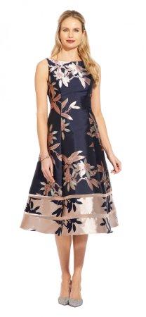 Short jacquard dress