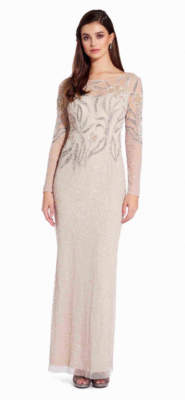 Beaded long dress