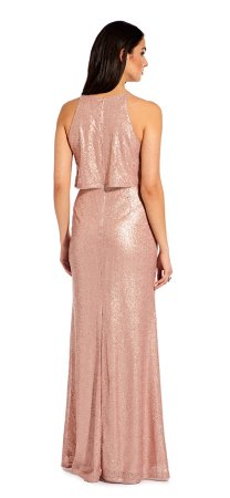 Sequin popover dress
