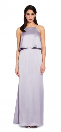 Popover satin dress