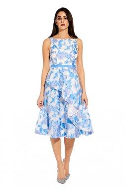 e008d0fb5 Organza jacquard dress ...