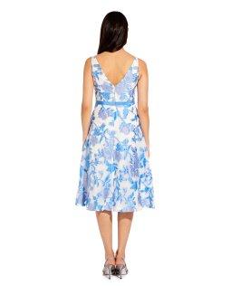 Organza jacquard dress