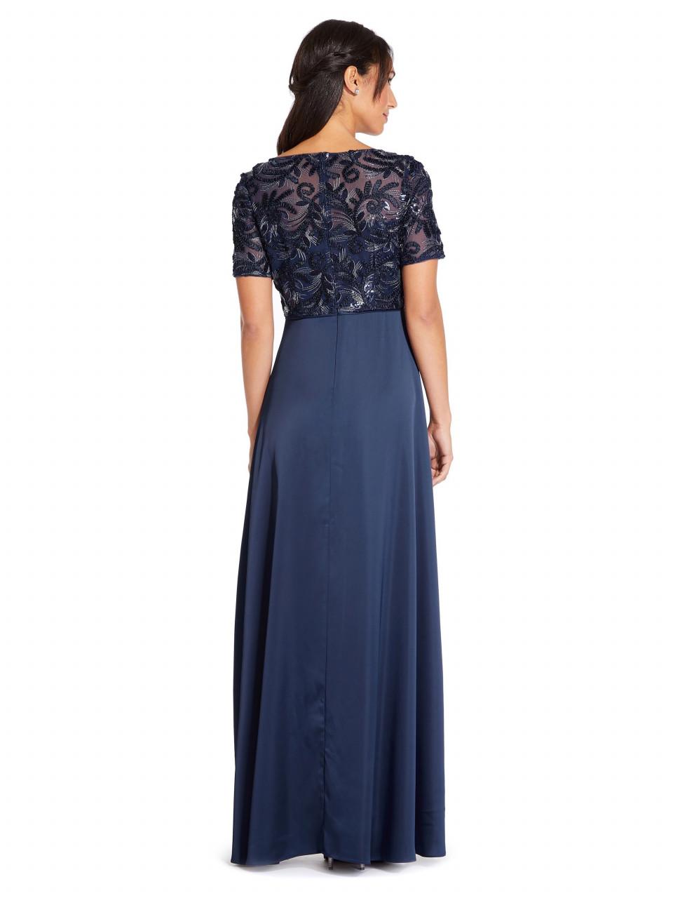 Soutache long dress