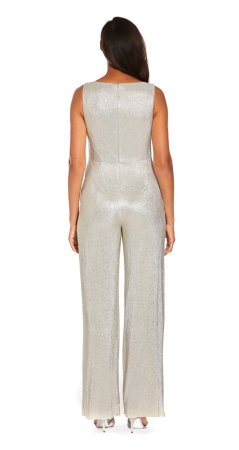 Wrapped knit jumpsuit