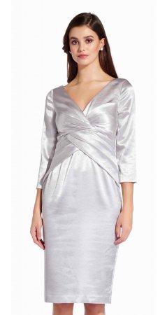 Satin short dress
