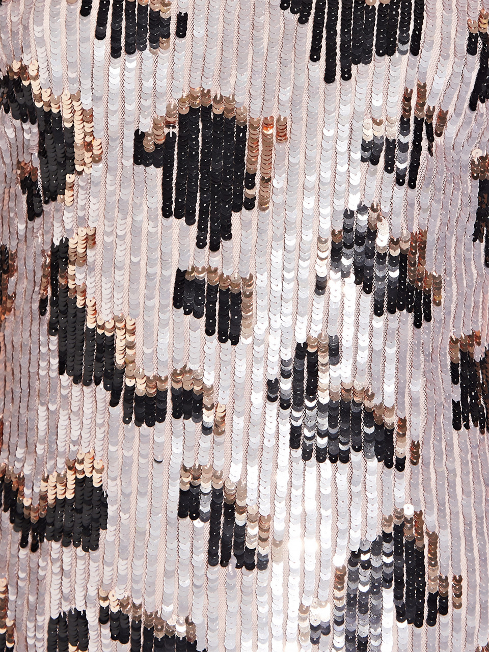 Bead mesh dress
