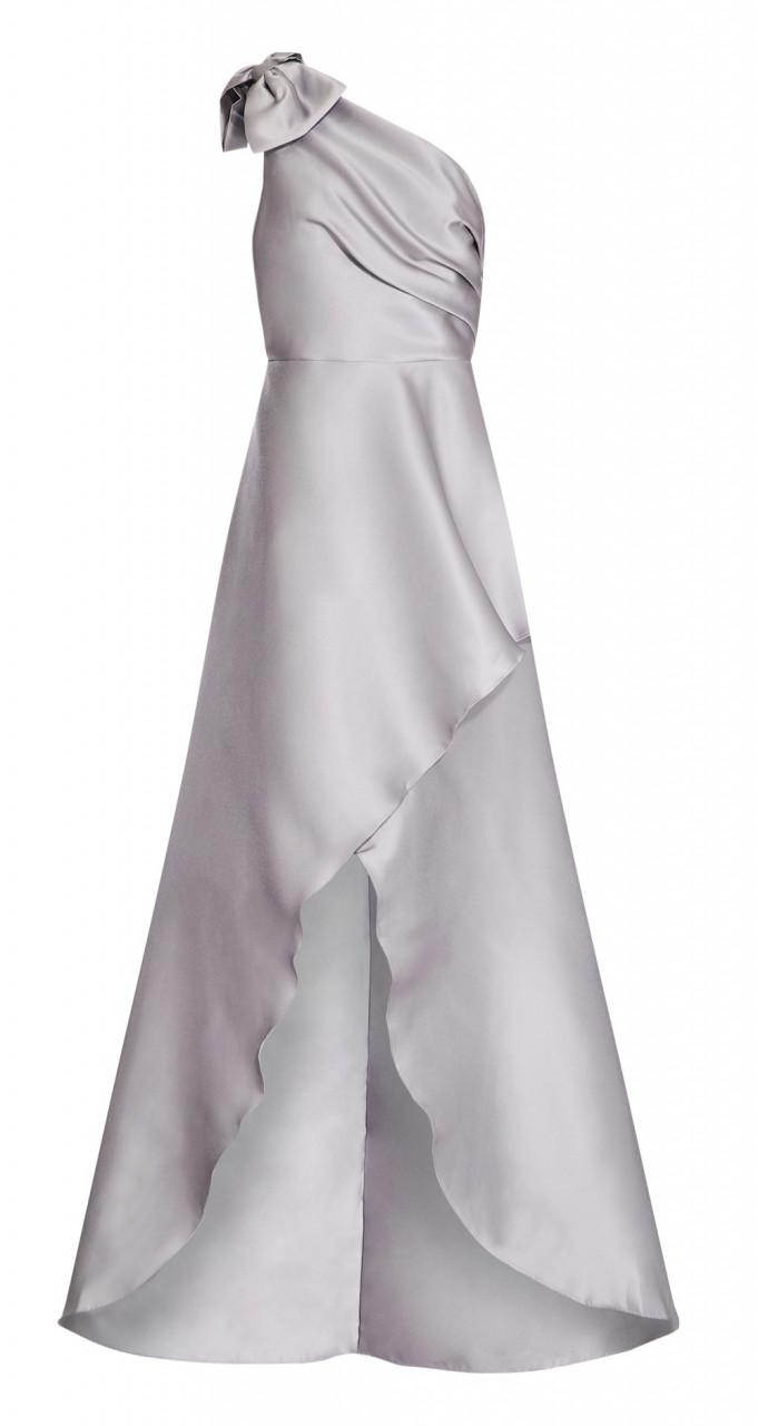 Mikado long dress