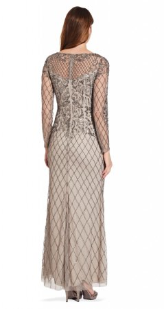 Beaded long gown