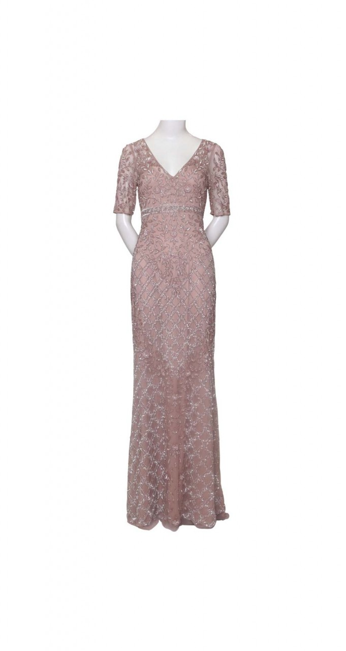Beaded meremaid gown