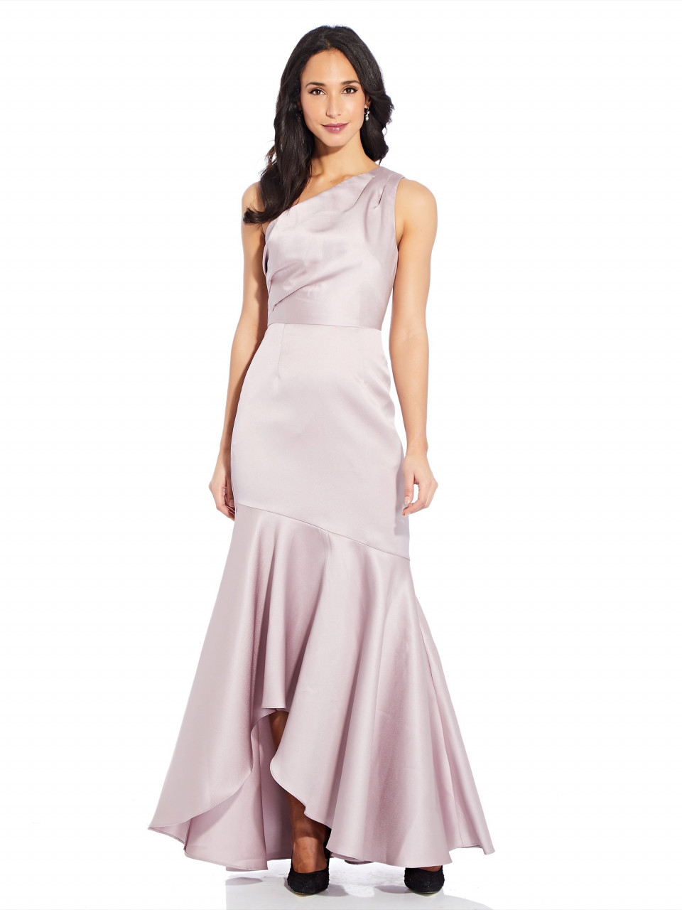 Mikado long gown