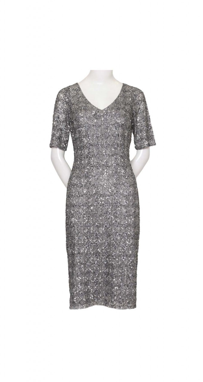 Midi beaded dress