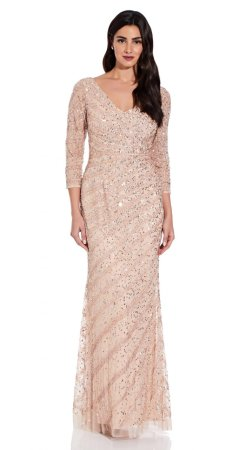 Long beaded dress