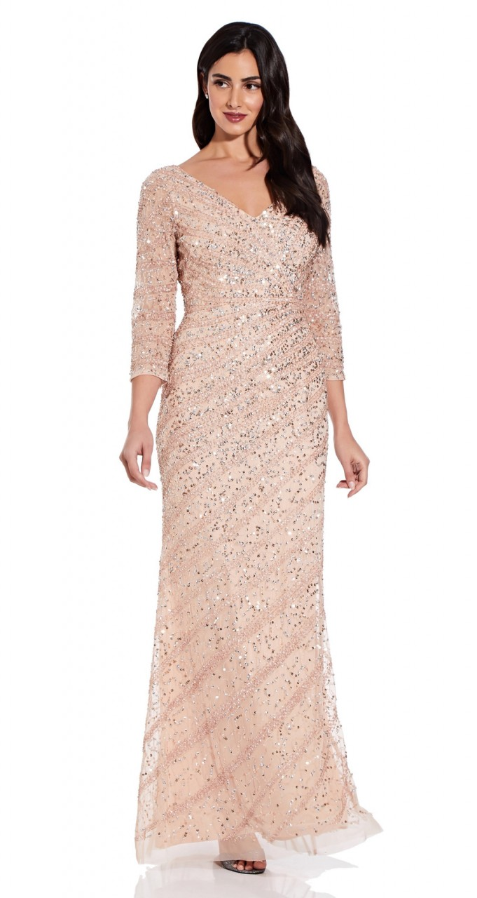 Long beaded dress