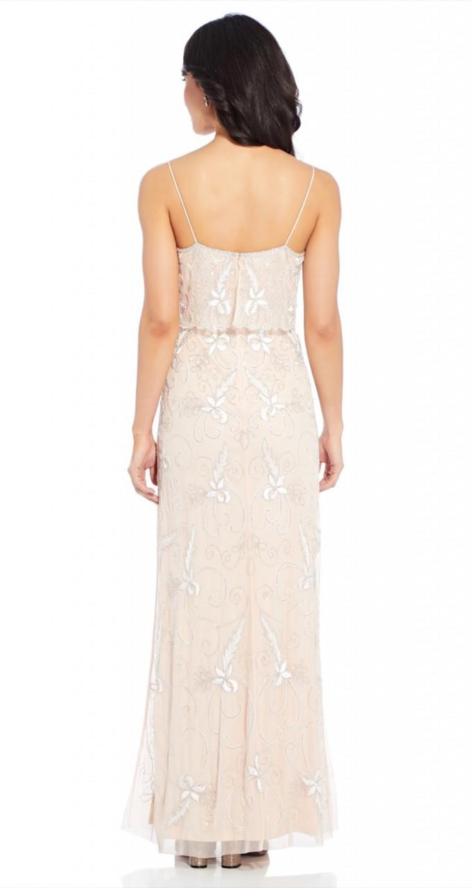 Long beades dress