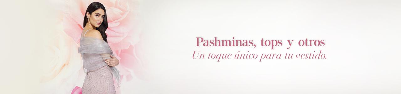 Pashminas, tops y otros