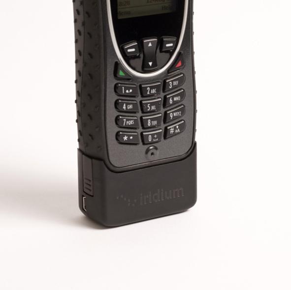 Adaptador para alimentación con conector USB para teléfono satelital Iridium Extreme 9575