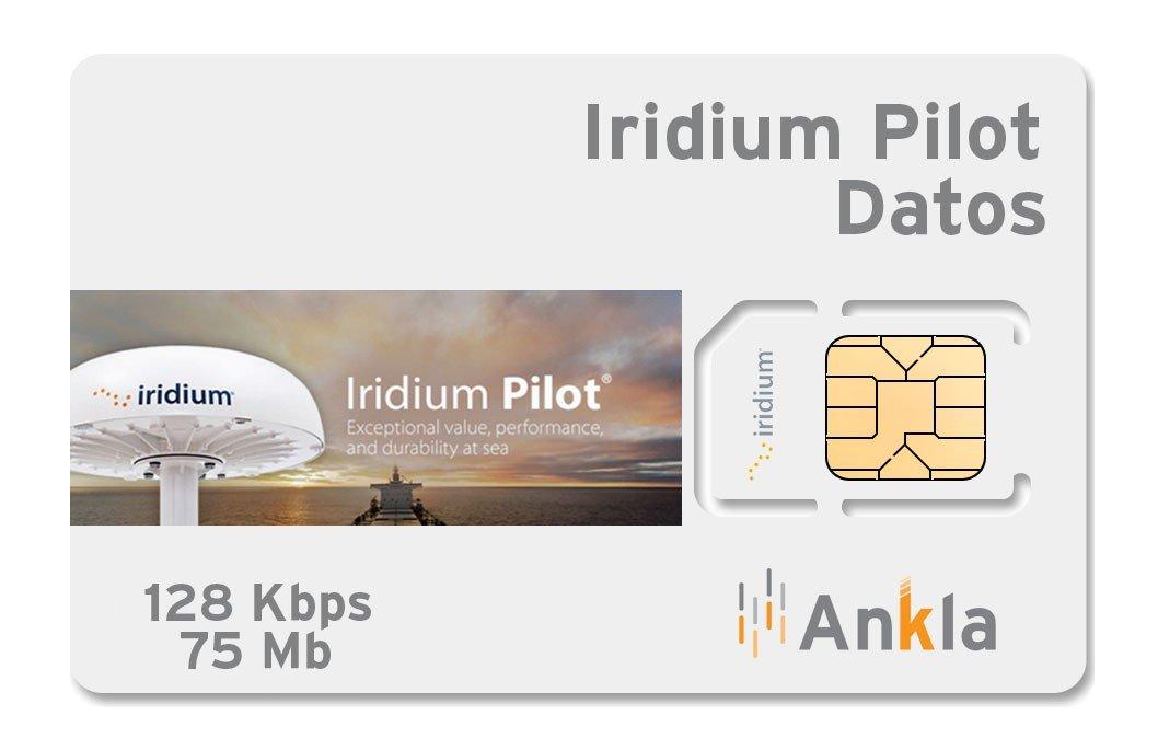 Plan Iridium Pilot 75 MB a 128 Kbps