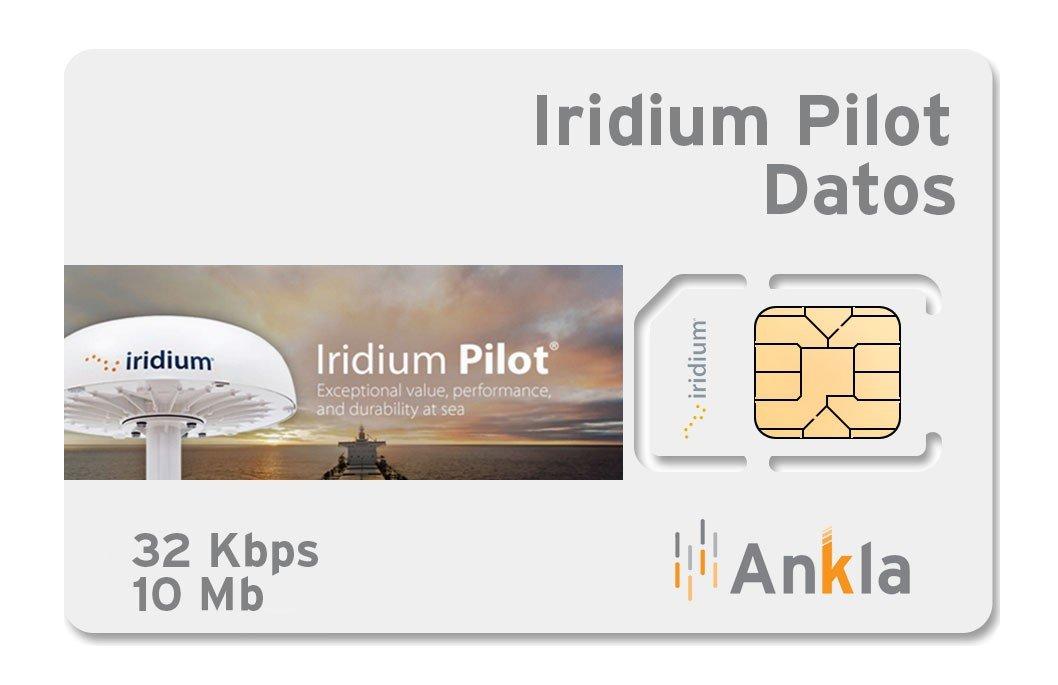 Iridium Pilot 10 MB a 32 Kbps