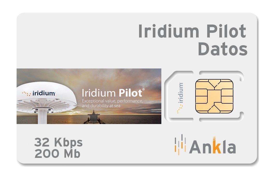 Plan Iridium Pilot 200 MB a 32 Kbps