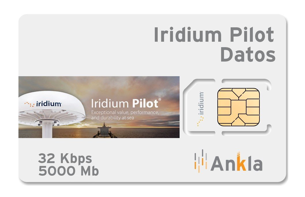 Plan Iridium Pilot 5000 MB a 32 Kbps