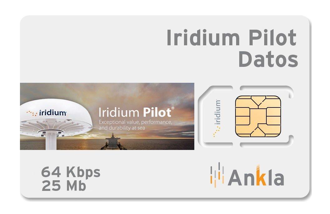 Plan Iridium Pilot 25 MB a 64 Kbps