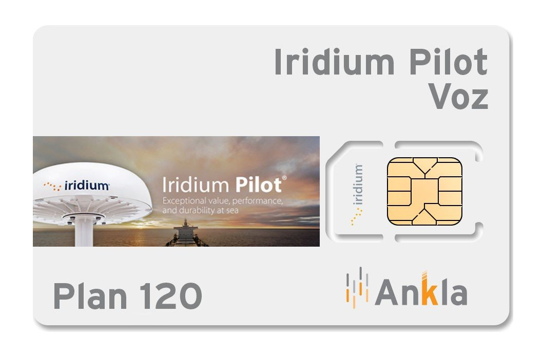Plan Iridium Pilot 120 minutos