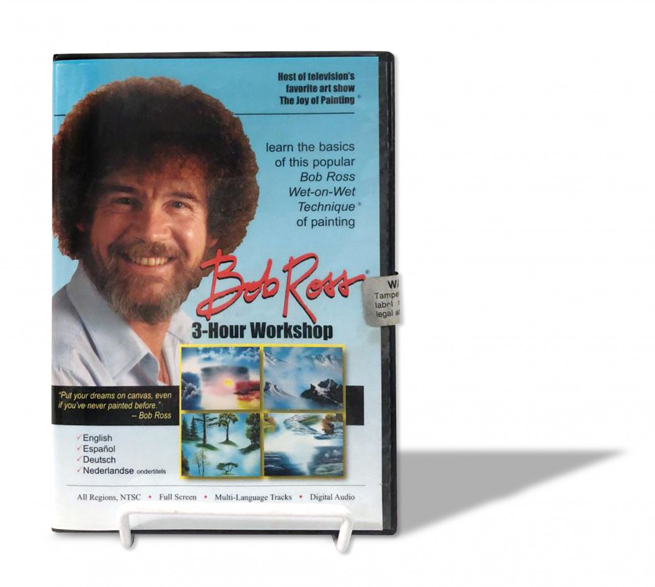 DVD Bob Ross 3hrs Workshop