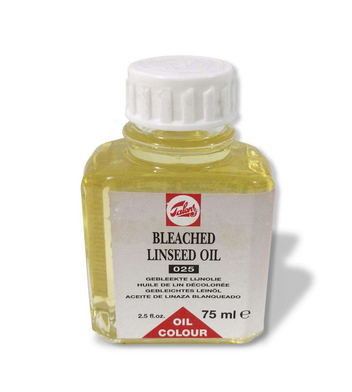 Aceite de Linaza Blanqueado para Oleo