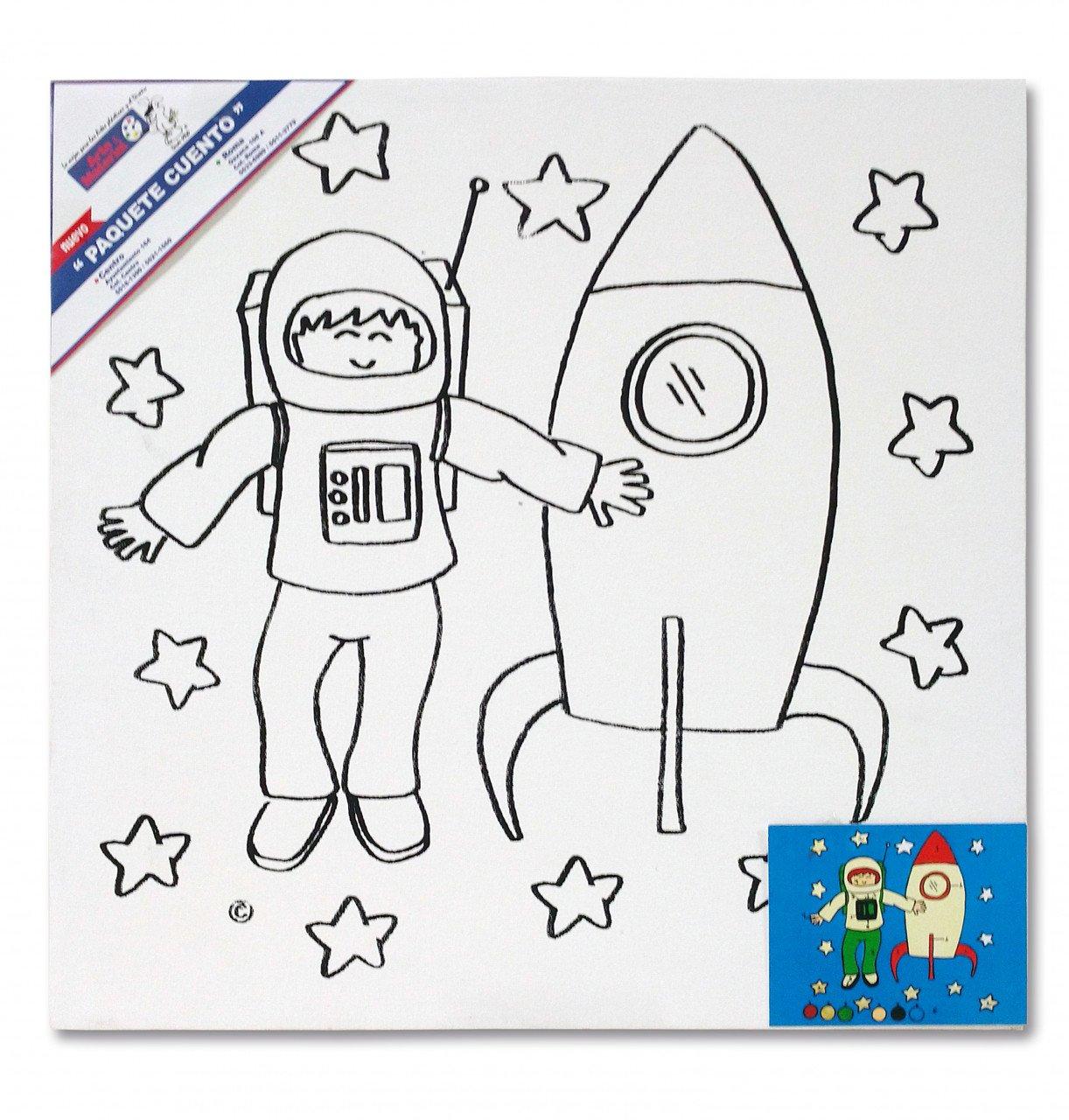 Paquete Cuento Astronauta
