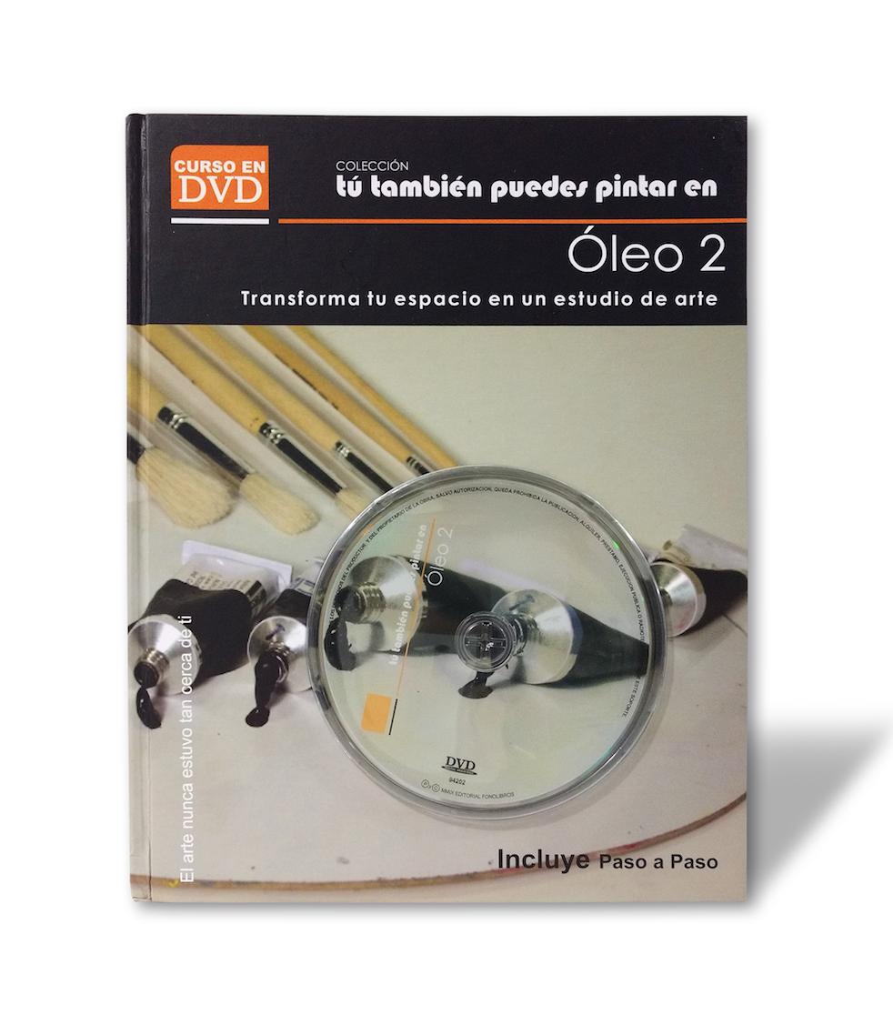 Libro con DVD pintar Oleo