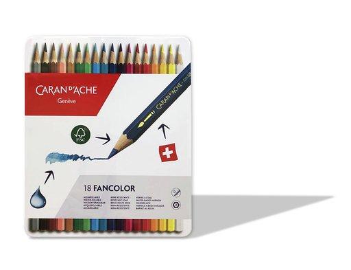 Estuche Fancolor de Caran D´Ache Lápiz Acuarelable